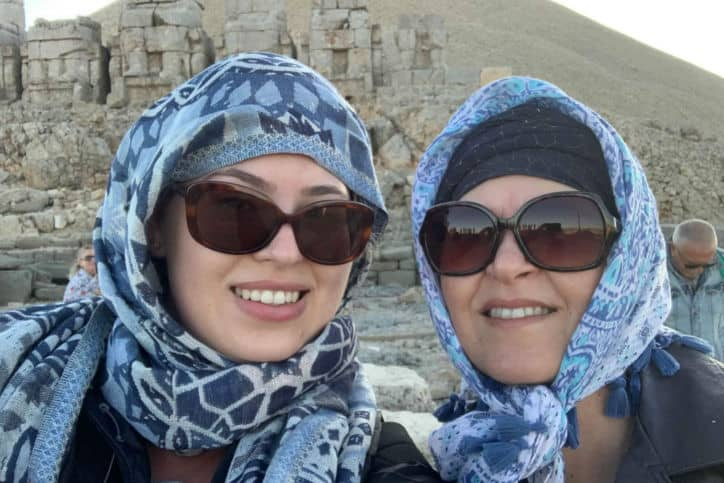 Nicky and Audrey in Turkey