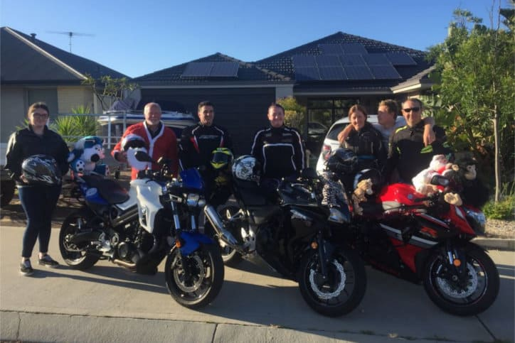 Charity - bikers annual toy run for children