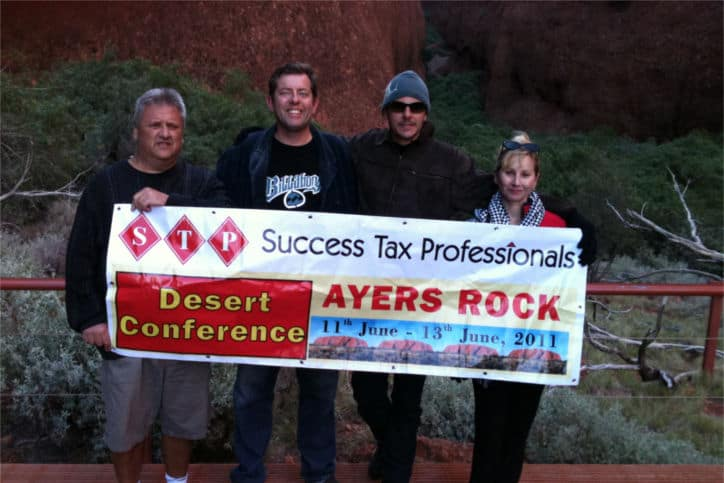 Accountants in the outback