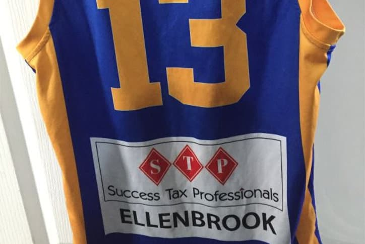 Basketball sponsorship by Success Tax Professionals Ellenbrook