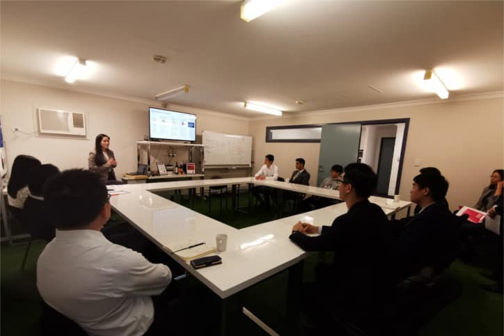 Intern selection briefing