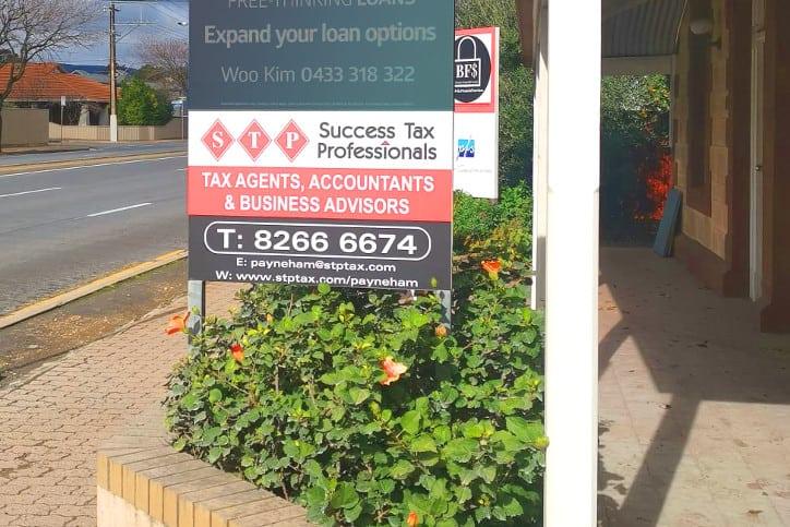 Payneham tax practice front entrance