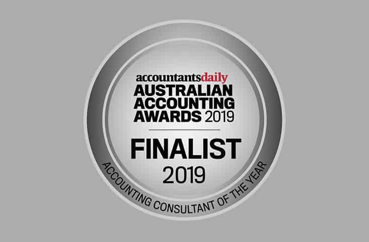 Australian Accounting Awards Finalist 2019