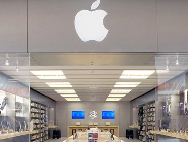 visual merchandising Apple