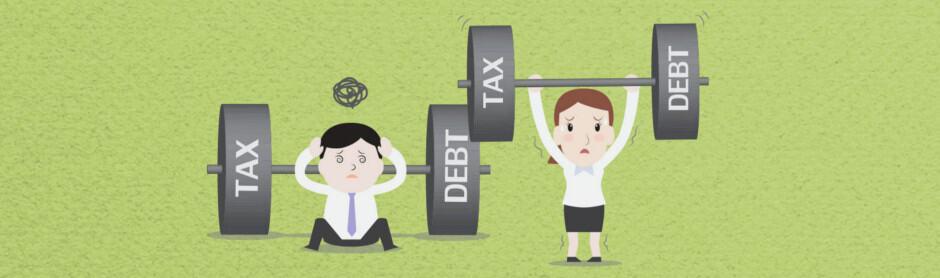 tax debls