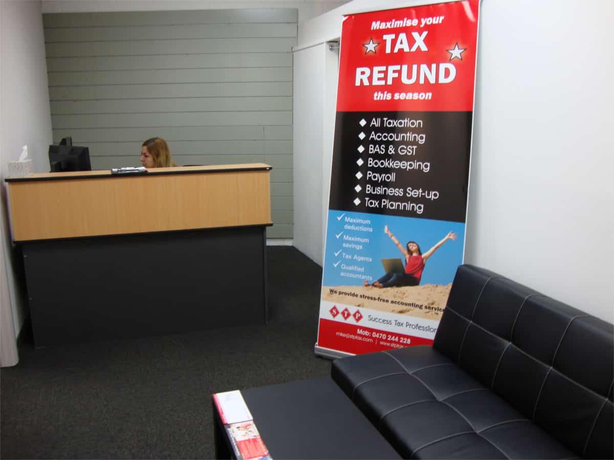 tax practice reception