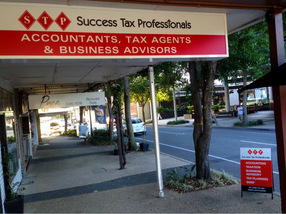 Success Tax Professionals Nundah office exterior