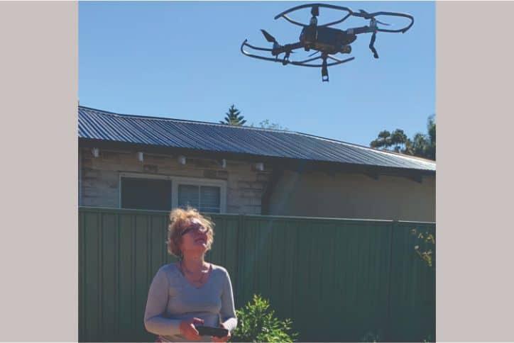 Yeva Gibson Drone Navigation