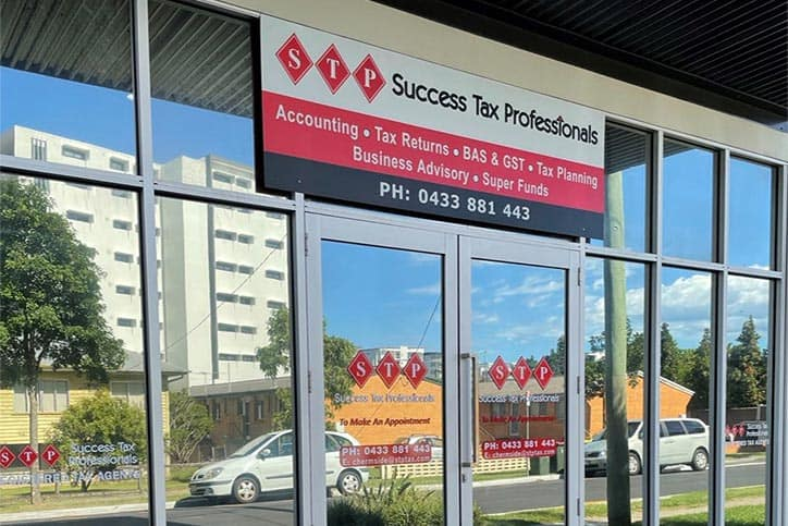 Chermside accounting practice entrance