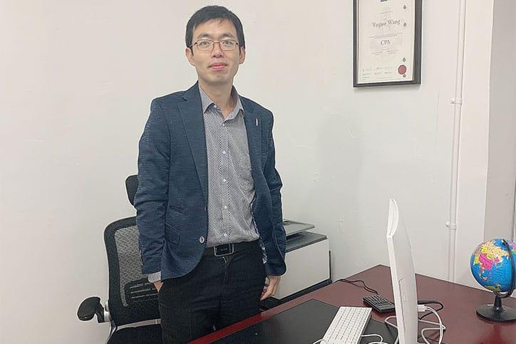 Principal accountant - Leo Wang