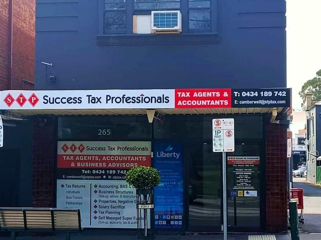 Camberwell tax practice