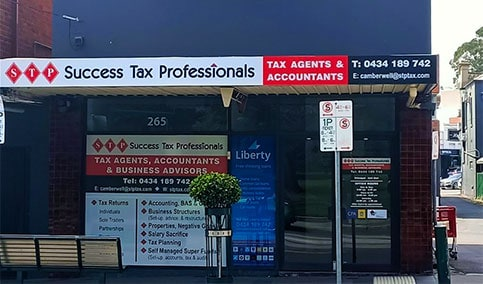 Camberwell tax practice