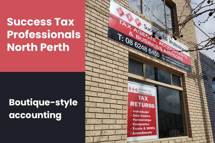 Tax accountant North Perth
