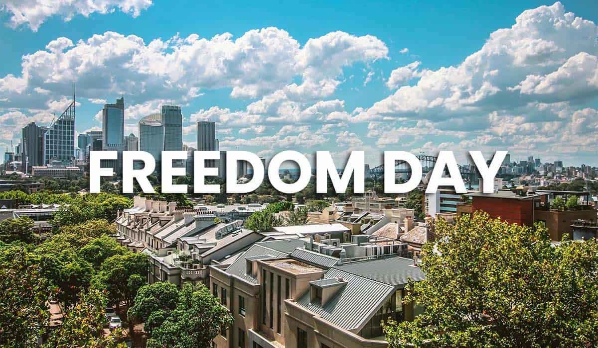 Freedom Day Sydney